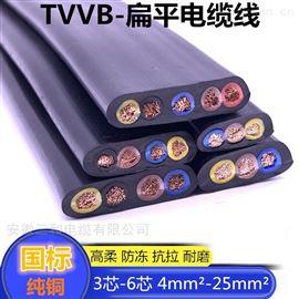高压扁电缆ZR-YJGCFPB-NH耐寒护套一字型