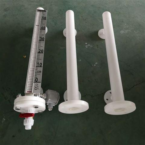 带颈法兰DN50水箱磁性液位计侧装式高压型