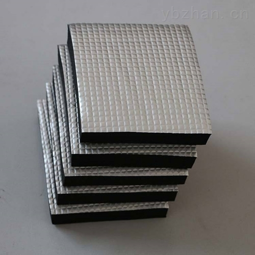 橡塑板铝箔贴面