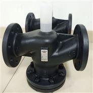 陽泉西門子電動調節閥鑄鋼DN65換熱站配套