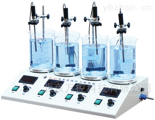 控温磁力双数显搅拌器