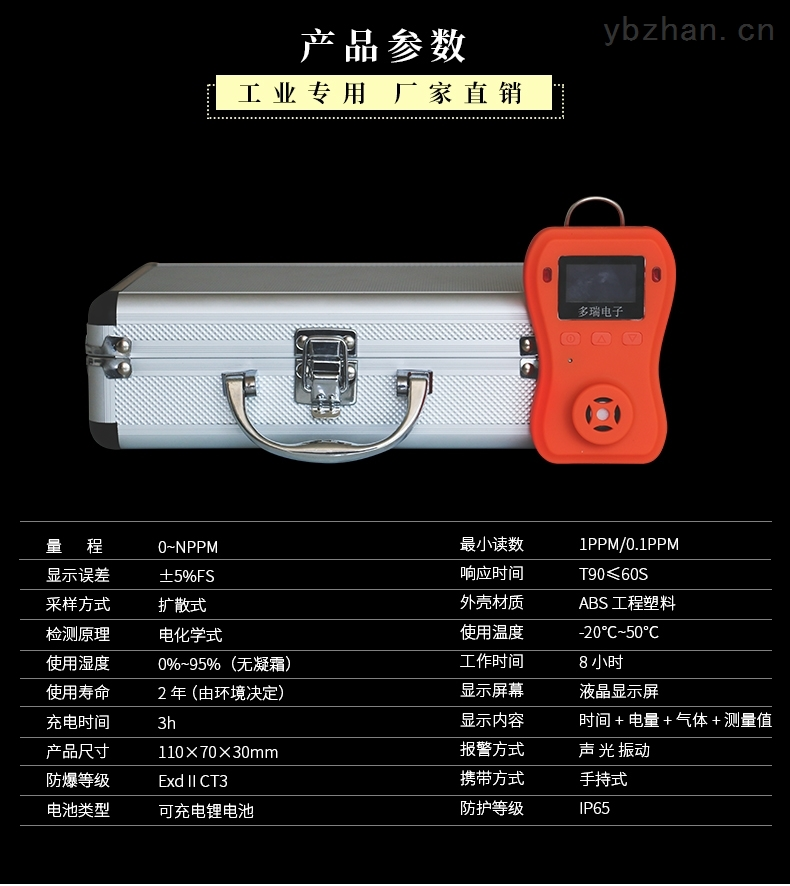DR-650系列可燃气体检测仪