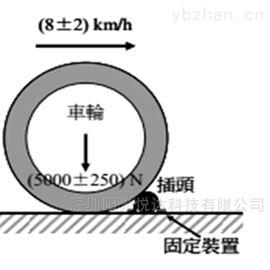 充电器车辆碾压试验机IEC62196-1