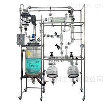 中试规模溶剂高效回收玻璃反应釜