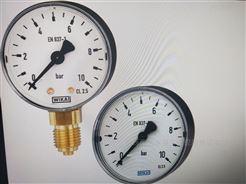 111.10, 111.12WIKA波登管压力表,铜合金材质轴向安装