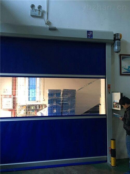 东莞高速卷帘门 带透视窗尺寸定制 抗风