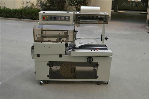 全自动现货L型收缩膜pe套膜450收缩包装机
