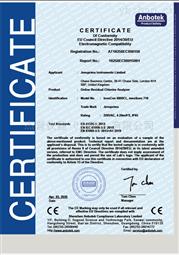 在線餘氯分析儀CE證書