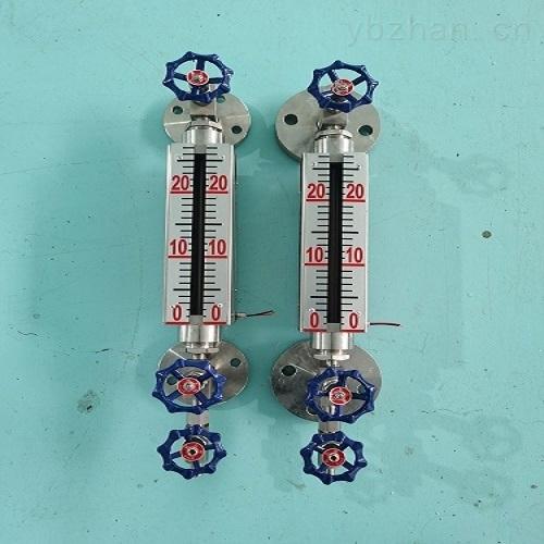 耐温350度丙醇胺介质双色液位计PVC材质侧装