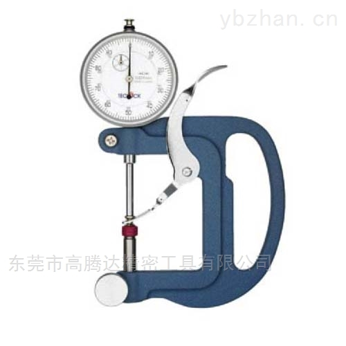 日本TECLCOK得乐表盘式厚度表测度测量仪