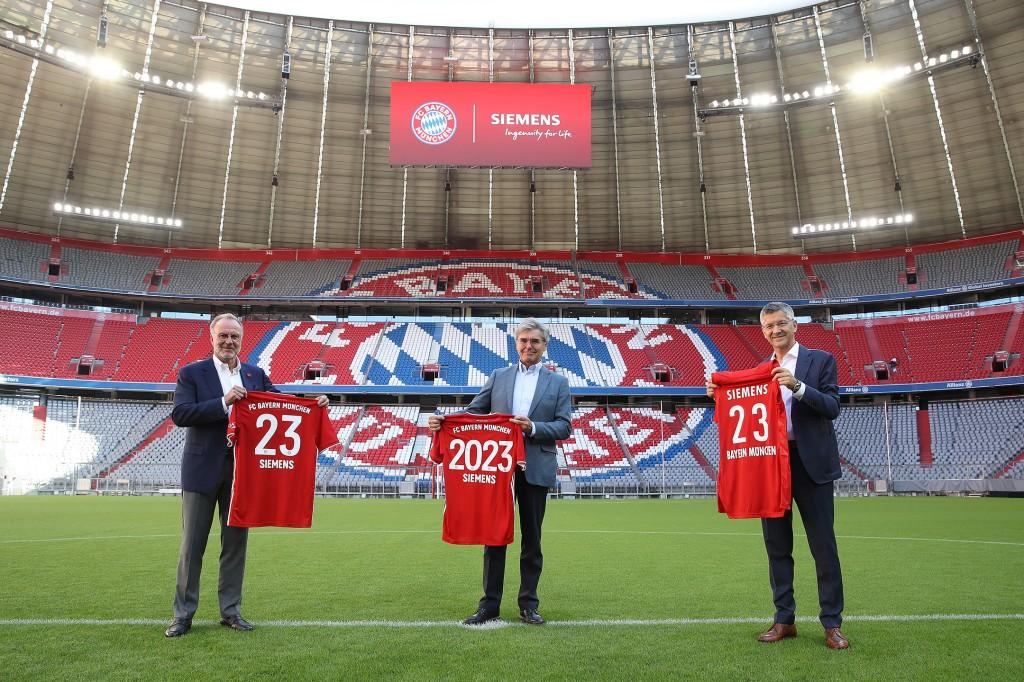 西門子與拜仁慕尼黑俱樂部延續合作伙伴關系