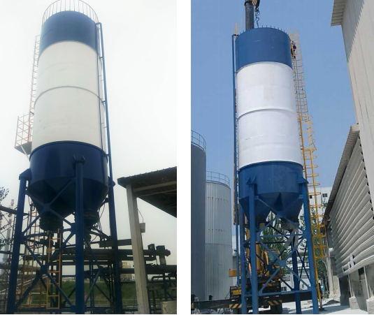 2017年5月采用我公司台100立方氢氧化钙(石灰乳)投加系统
