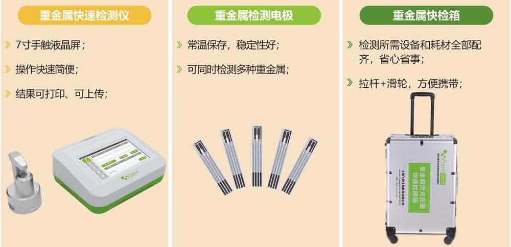 电化学重金属检测仪