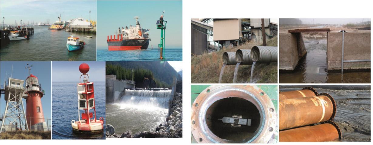 工矿企业水排放明渠流量计
