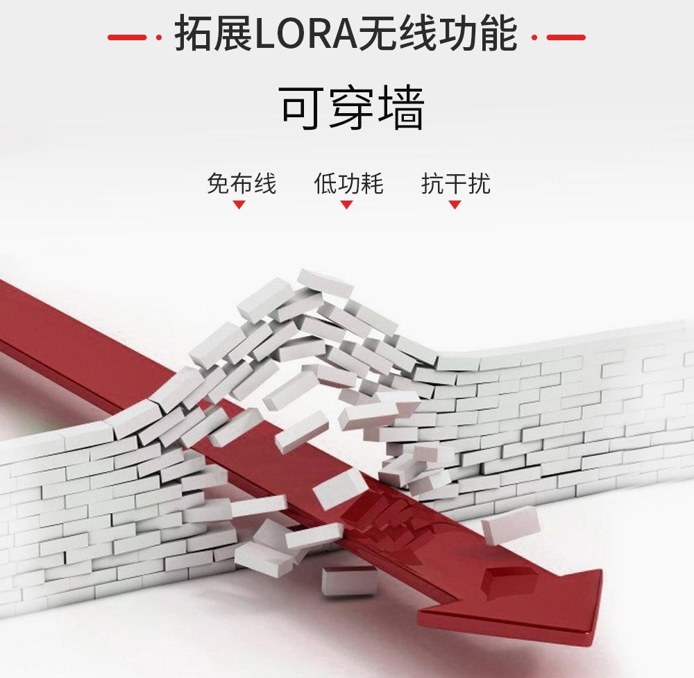真人语音播报主机可拓展LORA无线功能
