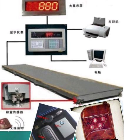 找数字地磅遥控器 地秤无线解码器怎么样作弊