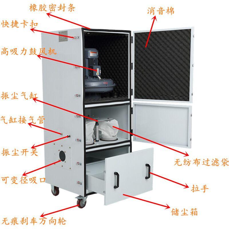 工业脉冲吸尘器 ,磨床粉尘吸尘器示例图28