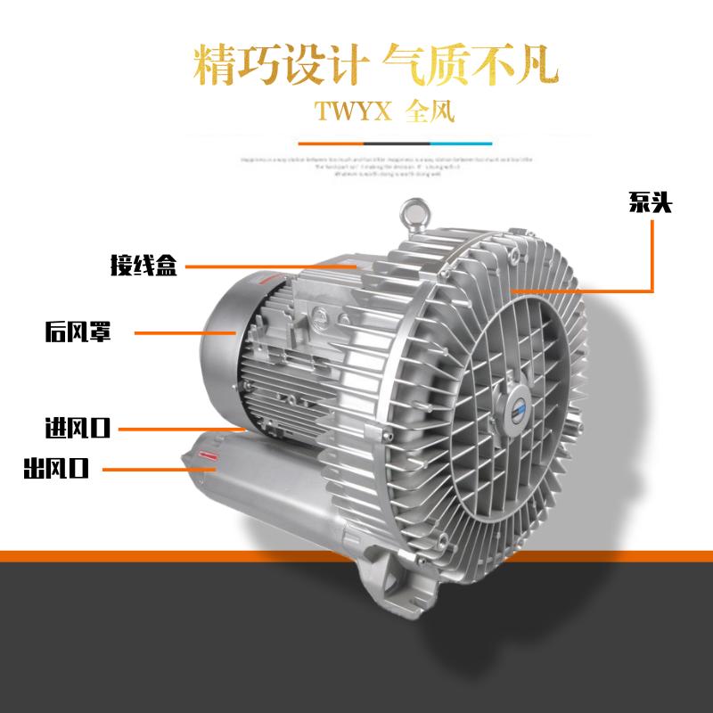 高压风机 中国台湾 22kw高压漩涡风机 江苏高压风机厂家示例图3