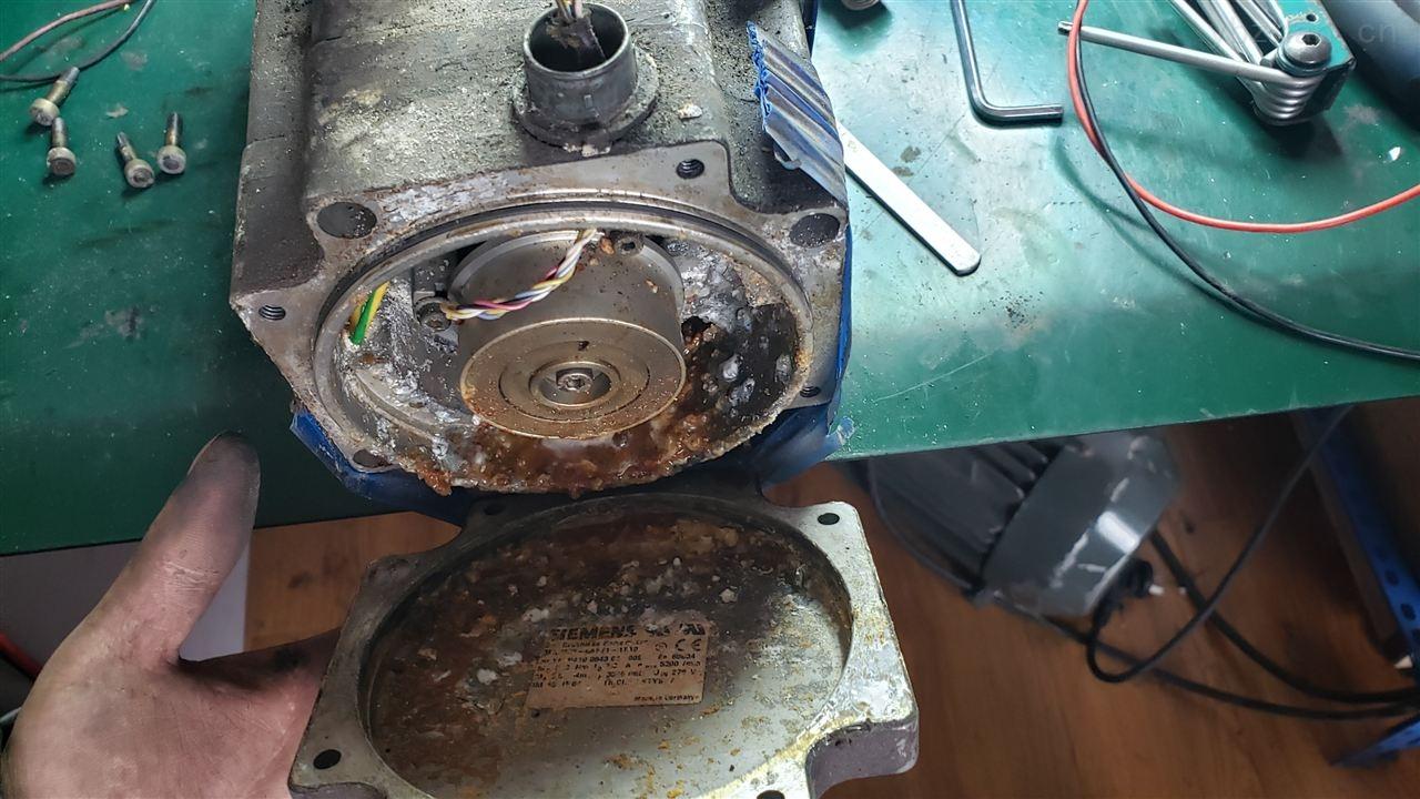 扬州西门子810D系统钻床伺服电机更换轴承-当天检测提供维修