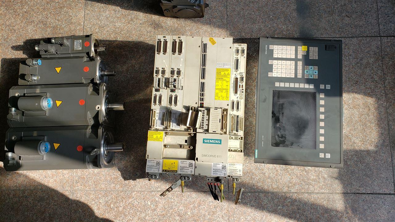 通快激光切割西门子840D数控系统伺服电机维修快速检测修复
