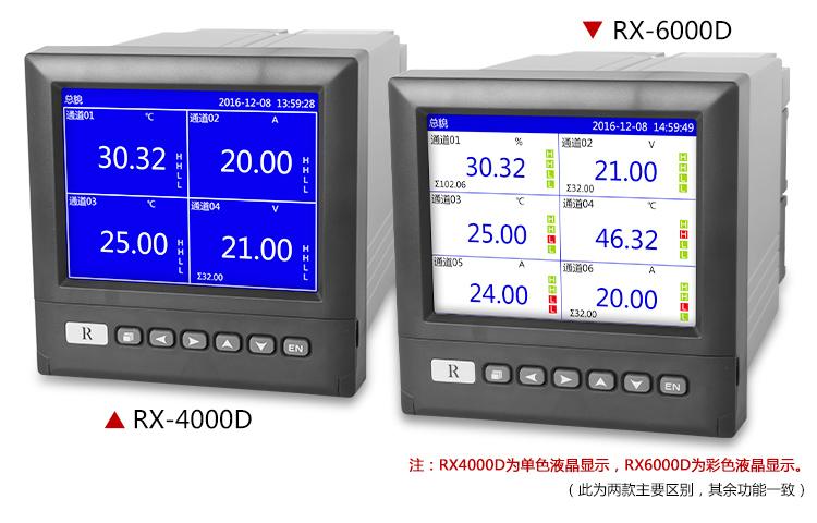 无纸记录仪RX-4000D