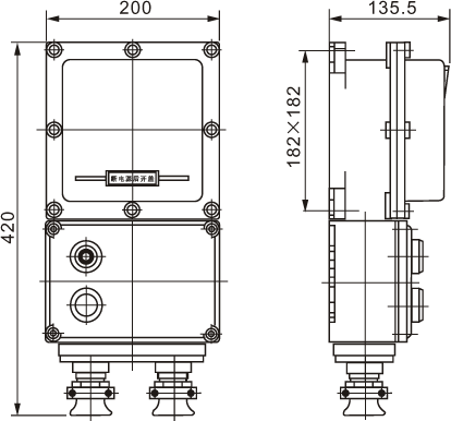BQD53(BQC)防爆电磁起动器