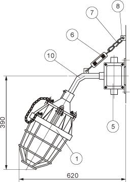 BAD52(BCD)系列隔爆型防爆灯