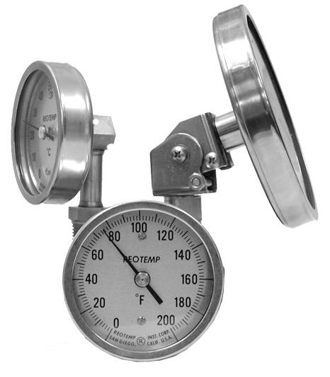 REOTEMP 工業雙金屬溫度計