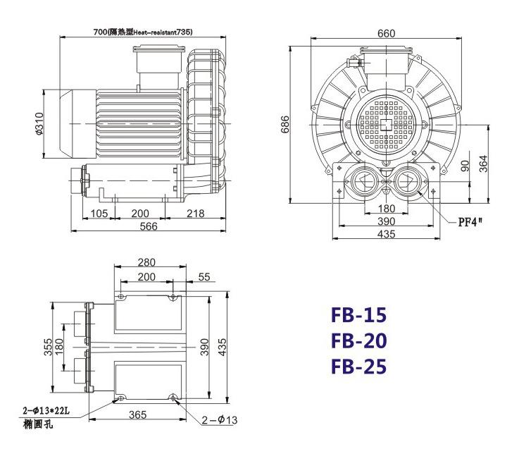 嘉兴变频防爆旋涡风机 FB-15变频防爆旋涡风机 厂家防爆风机示例图19