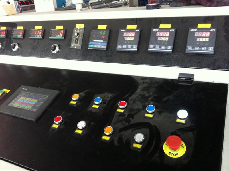熔喷布设备控制柜显示仪表