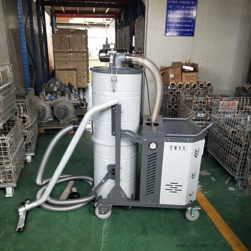 车间移动式吸尘器 清洁设备吸尘器 4KW加工零件粉尘吸尘器示例图3