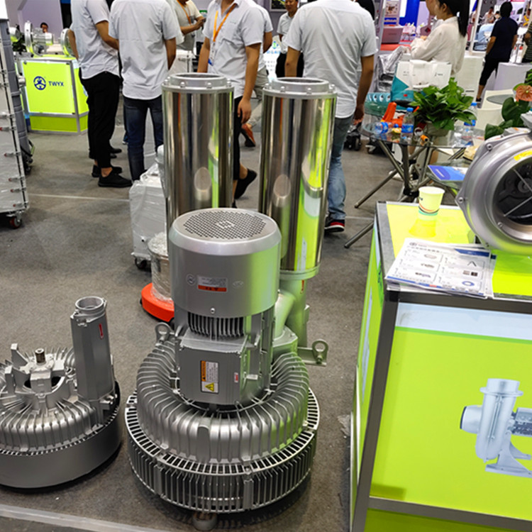 厂家 立式20kw50HZ漩涡气泵  型号LYX-94S-2立式高压漩涡气泵 旋涡式气泵示例图6