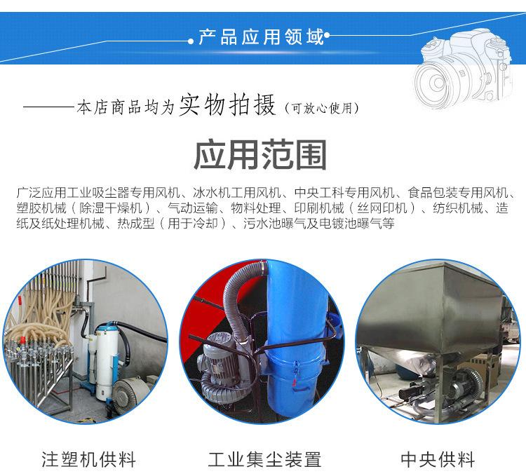 厂家 立式20kw50HZ漩涡气泵  型号LYX-94S-2立式高压漩涡气泵 旋涡式气泵示例图10