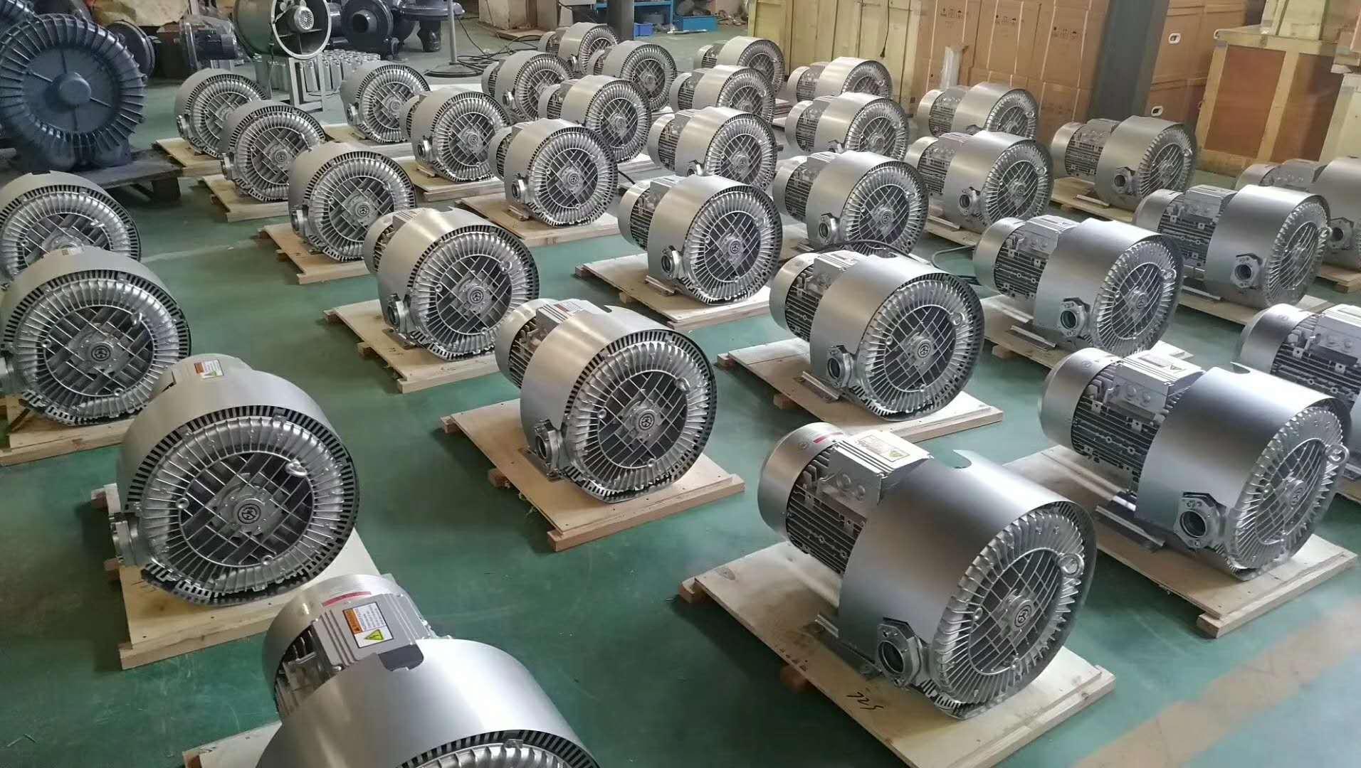 厂家 立式20kw50HZ漩涡气泵  型号LYX-94S-2立式高压漩涡气泵 旋涡式气泵示例图13